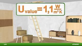 FAKRO loft ladders - LWK loft ladder