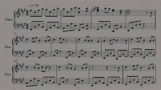 โน้ตเพลงเปียโน เรารักแม่(รวมศิลปินวันแม่) Piano cover by Keng Trumpeter