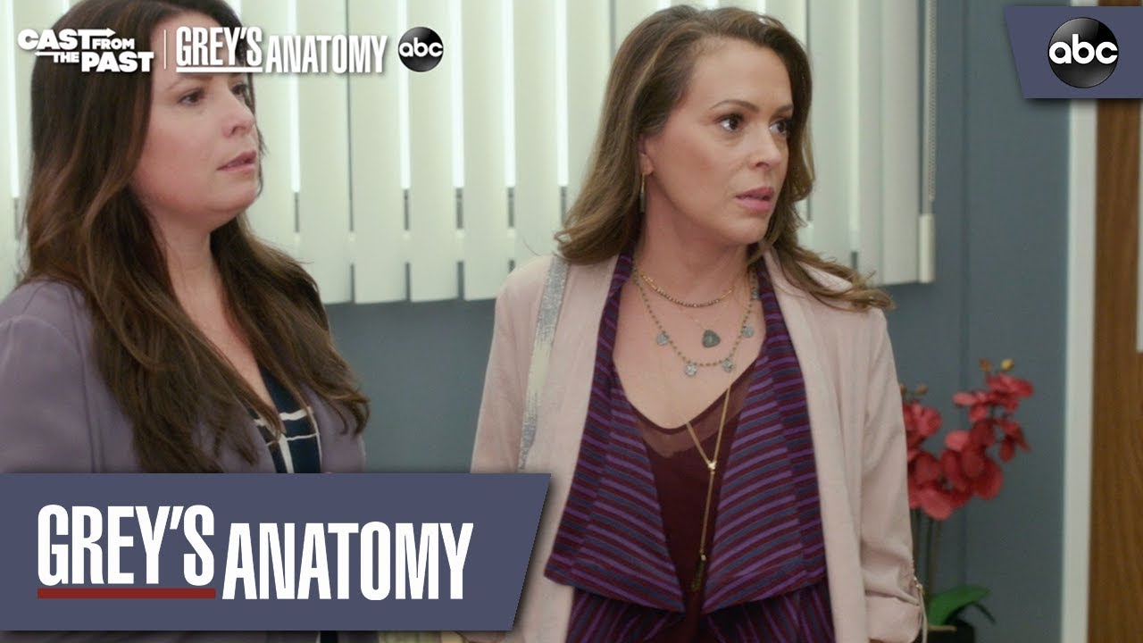 Grey S Anatomy Shares A First Look At Its Charmed Reunion