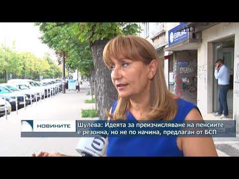 Шулева: Идеята за преизчисляване на пенсиите е резонна, но не и по начина, предложен от БСП