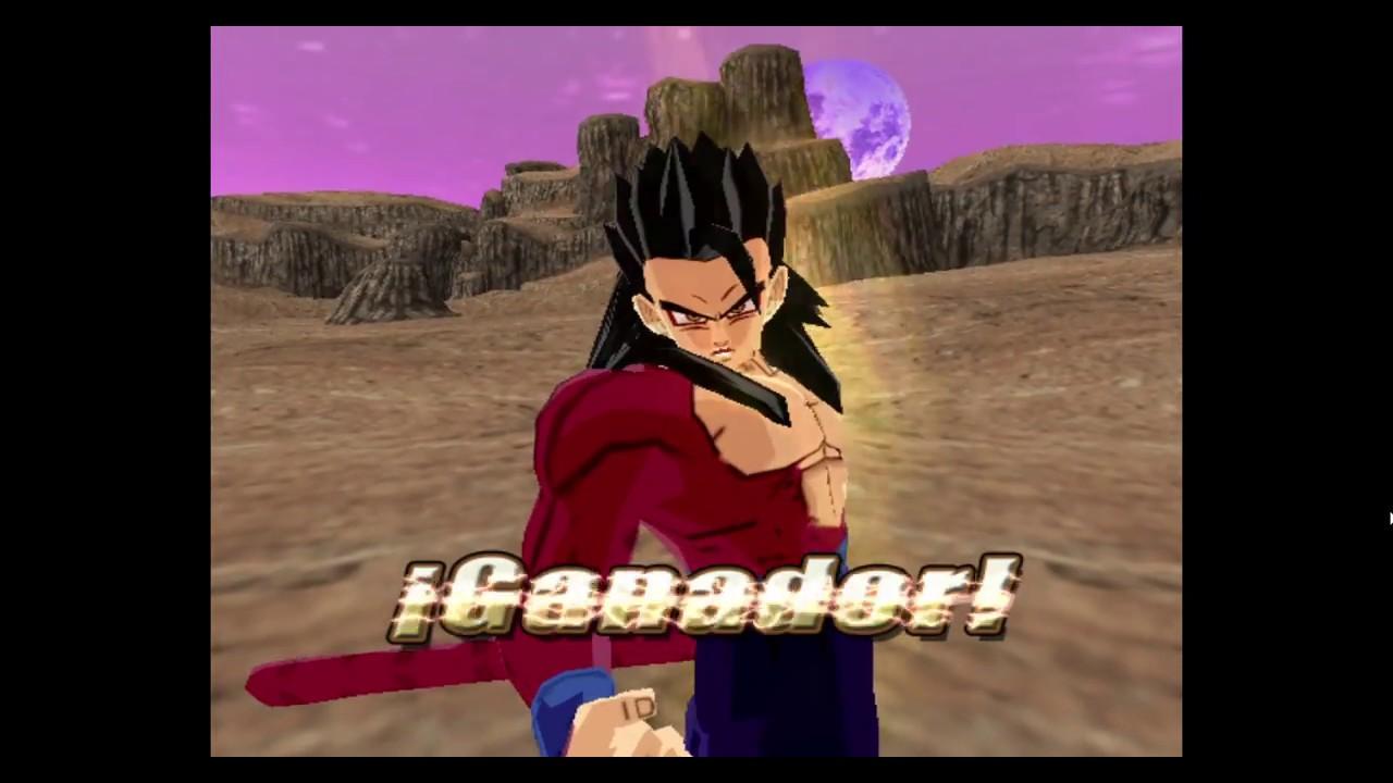 Dragonball Budokai Tenkaichi 3 Ssj4 Gohan Gameplay