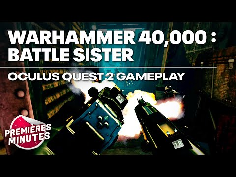 Warhammer 40,000 : Battle Sister - Gameplay Oculus Quest | Quest 2