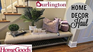 HOME DECOR HAUL 2 | NEW HOME HAUL | HOMEGOODS | BURLINGTON