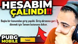 YAYINDAYKEN HESABIM ÇALINDI!! 😓   PUBG MOBILE