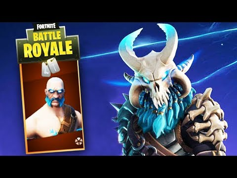 Fortnite Skin Level 100 Da Season 5 Ragnarok Youtube