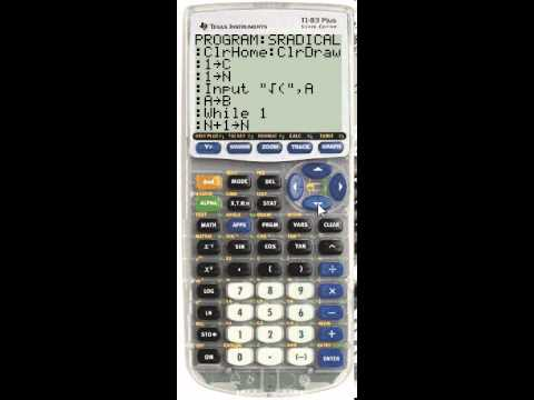 Simplest Radical Form Calculator Program + Tutorial - YouTube