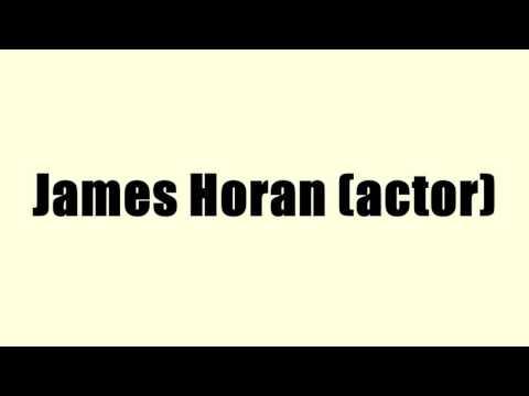 James Horan (actor)