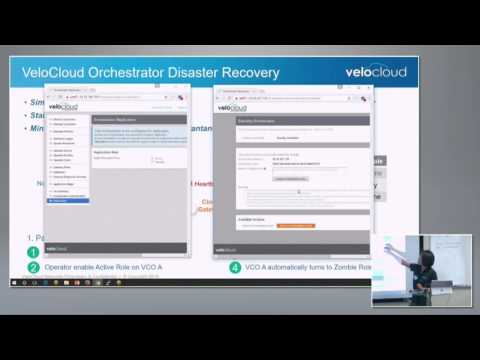 VeloCloud On-Premises Orchestrator Demo with Fan Gu - YouTube