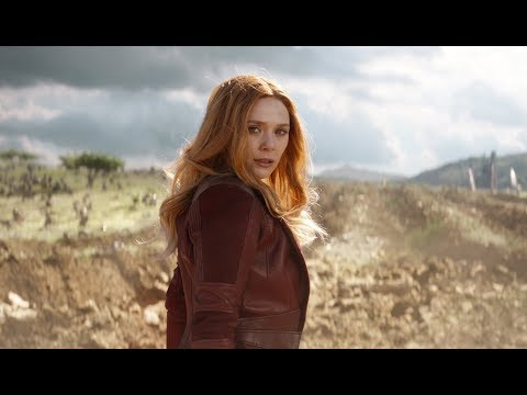 Scarlet Witch - All Scenes Powers | The Avengers - Infinity War