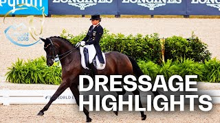 Isabell Werth & Team Germany on top! | Dressage Grand Prix Team - Highlights | Tryon 2018