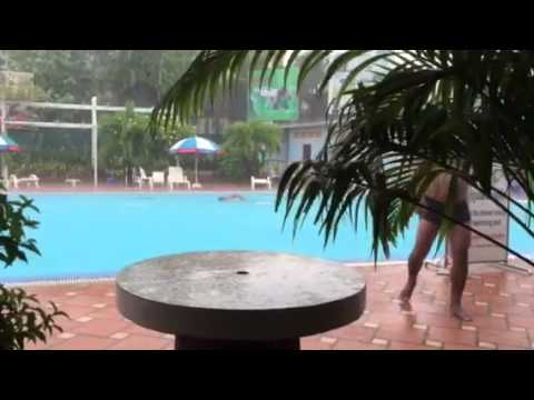 Rain at Phnom Penh Sports Club