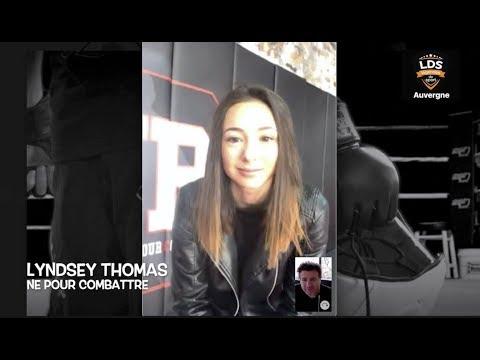 Lyndsey Thomas - Championne kick-boxing - Interview Auvergne Légendes des Sports.