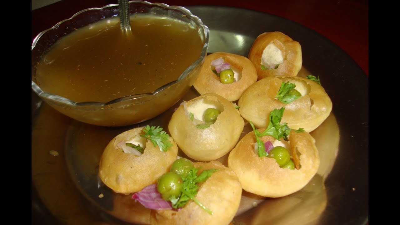 delicious Paani Puri Recipe