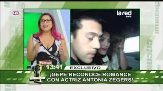 Gepe reconoce romance con actriz Antonia Zegers
