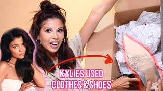 I SPENT $1,000 ON KYLIE JENNERS USED CLOTHES AND SHOES... lets unbox