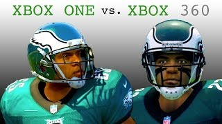 Madden NFL 25 Graphics Comparison (XBOX ONE vs XBOX 360)