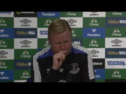 Ronald Koeman's pre-Crystal Palace press conference