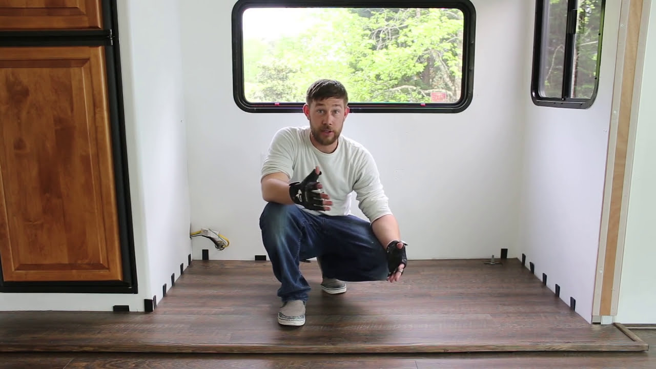 How to Replace Flooring in RV Slide Out