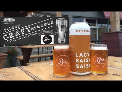 Friday CRAFTernoons: Lacy Saisy Saison