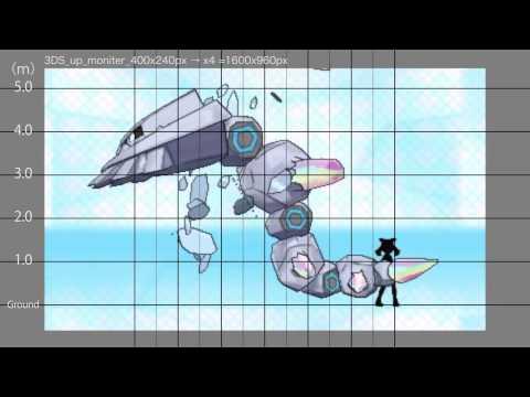 Pokemon ORAS Height Comparison