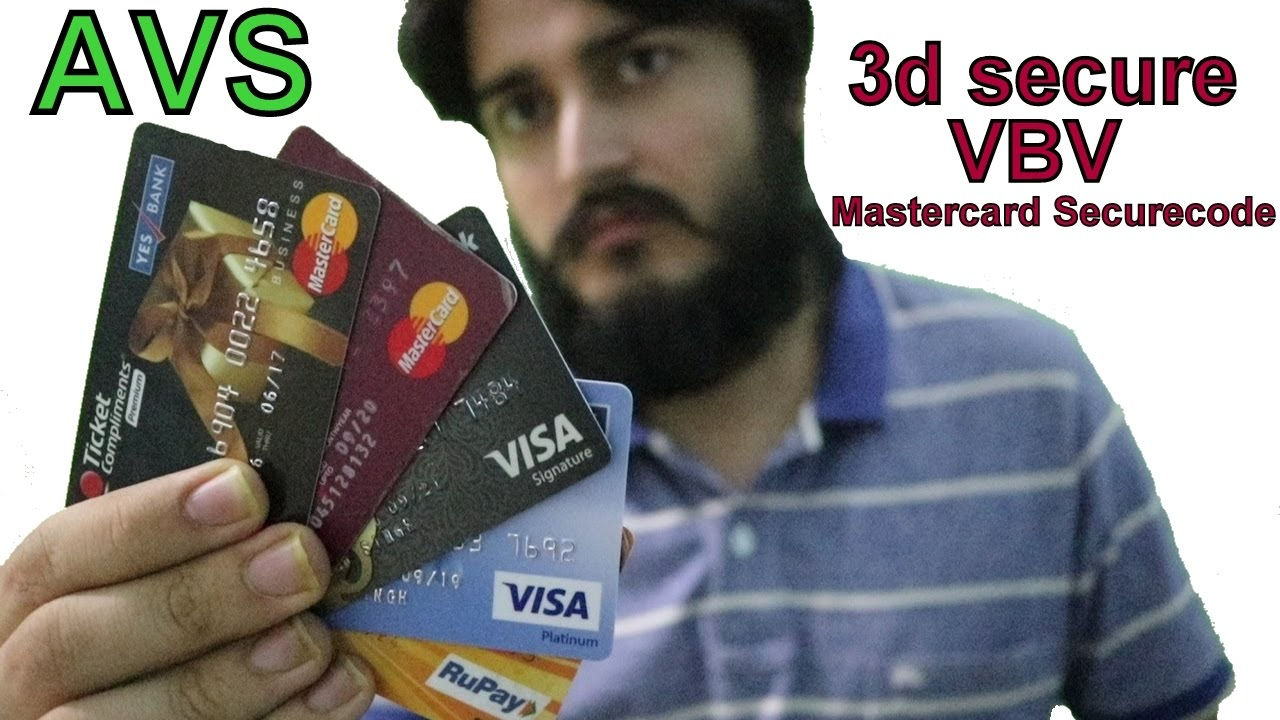Types of Payment gateways and cards !! AVS , non CVV , 3d secure ( non vbv  ) and much more