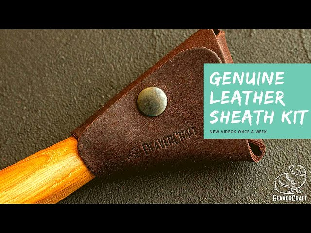 Carving a Spoon 🥄  BRAND NEW! Spoon Knife + Leather Sheath SK1SH