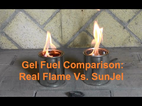 gel 24 pack flame Real fuel