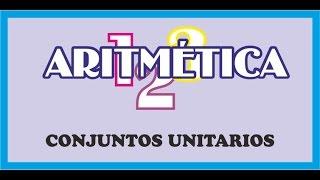 ARITMETICA 01 5 CONJUNTOS UNITARIOS