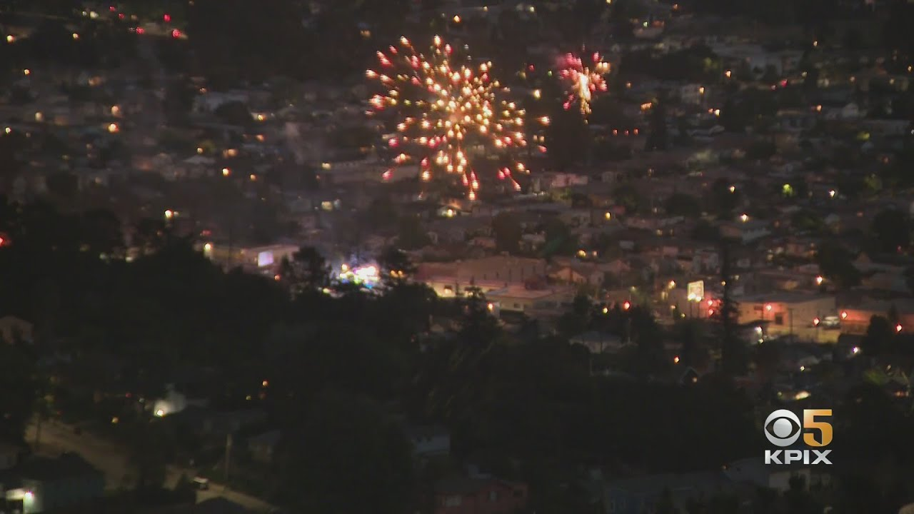 ILLEGAL FIREWORKS:  Oakland skies fill with illegal firework displays as July 4th holiday nears