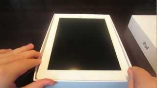 Apple iPad With Retina (Third-Generation) Unboxing