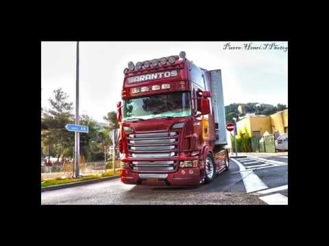 Scania R V8 Sarantos Petropoulos Greece