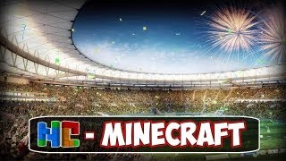 O MARACANÃ! ESTÁDIO NO MINECRAFT