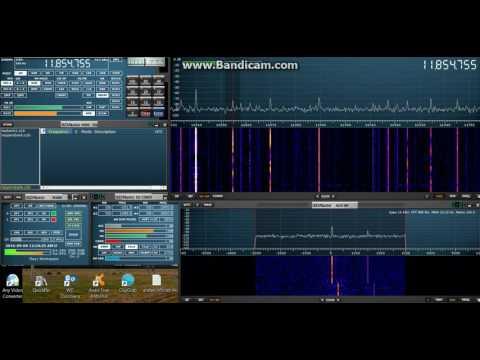 Radio Aparecida Brazil 11855khz 1kw 03/09/2016 00:33 UTC