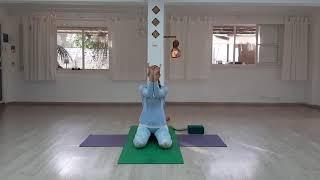 טרי-יוגה TriYoga מהסלון הביתי  בימי הקורונה  תרגול בוקר 2/חלק1 פראנימה
