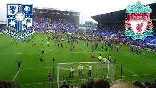 TRANMRE V LIVERPOOL VLOG!!! PITCH INVASIONS!!!
