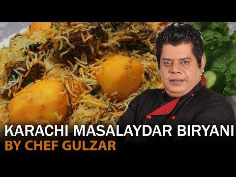 Karachi Masalaydar Biryani Chef Gulzar