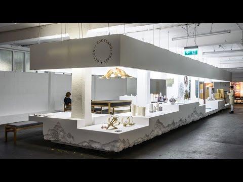 Scotland: Craft & Design Pavilion at London Design Fair 2016