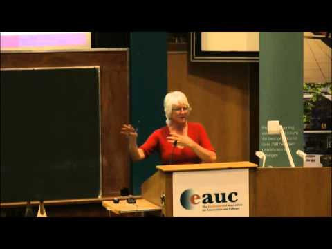 EAUC 15th Annual Conference keynote Address - Sara Parkin, Forum for the Future