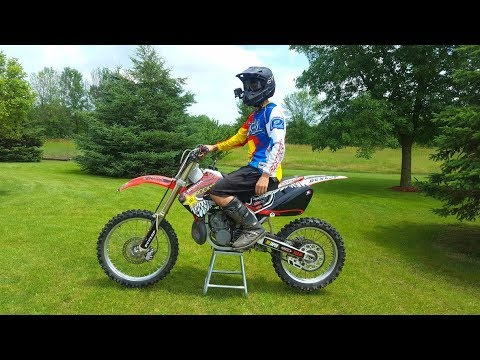 The BEAST is BACK!!! Mint Honda Cr 250 First Ride