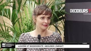Materials & Light 2021 - Lumière et biodiversité : mesurer l'impact