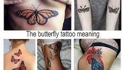 The butterfly tattoo meaning - features of the picture and photo for the site tattoovalue.net