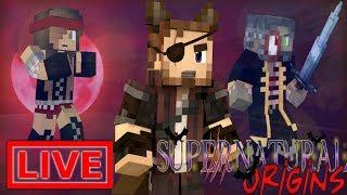 Minecraft Supernatural Origins #22.5 (Live Modded Survival)