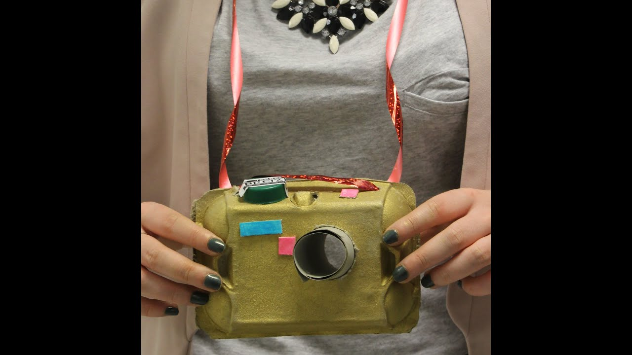 Gut gemocht Appareil photo avec une boîte à oeufs - YouTube RF68