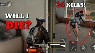 WILL I DIE?! | 26 Kills Solo Vs Squad | PUBGM #9