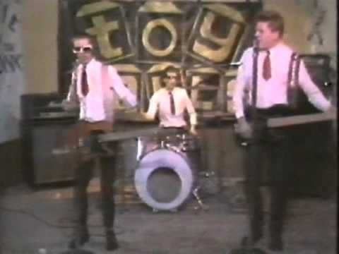 Toy dolls - blue suede shoes