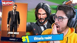 If YOU WIN SBLOCCO JOHN WICK'S LEGENDSKIN Fortnite ITA