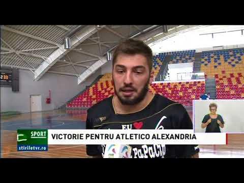 VICTORIE PENTRU ATLETICO ALEXANDRIA