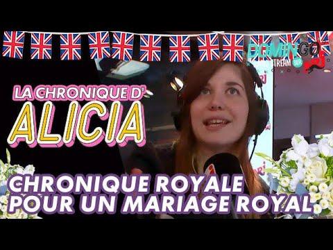 Une chronique royale pour un mariage royal ! DominGo Radio Stream sur NRJ