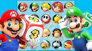 Super Mario Party All Characters Unlocked and Donkey Kong, Diddy Kong, Pom Pom + More