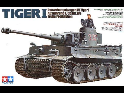 Build Reveal: Tiger I Early Production